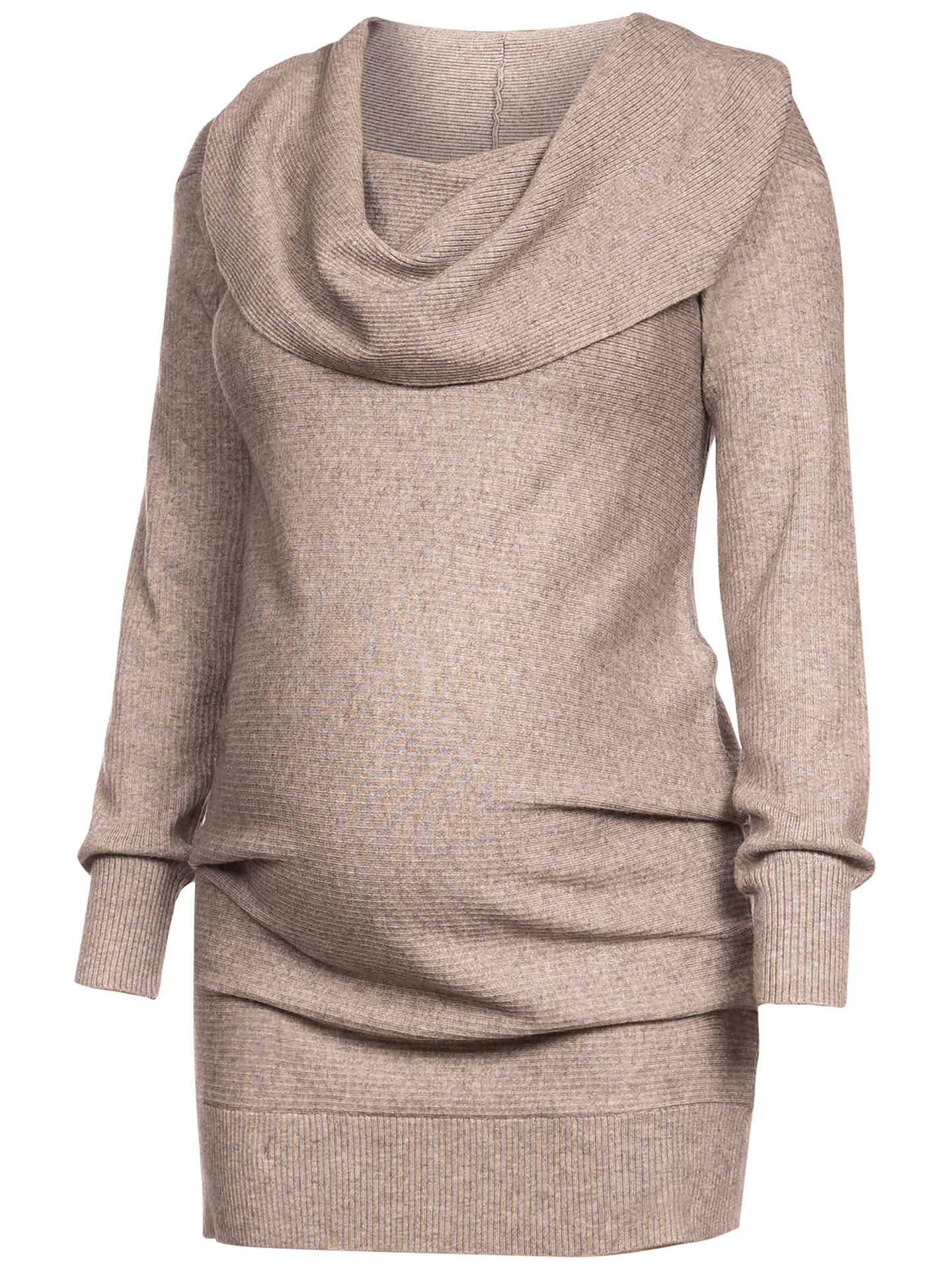 BuySéraphine Fantine Maternity Knit Tunic, Oatmeal, S Online at johnlewis.com