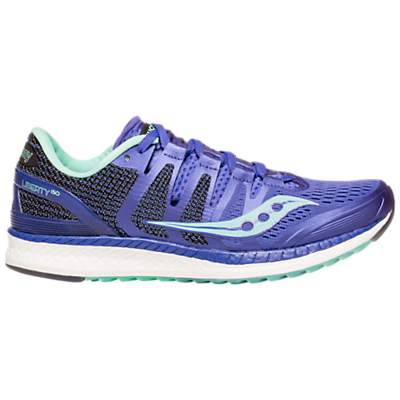Saucony Liberty ISO Women's Running Shoes, Violet/White