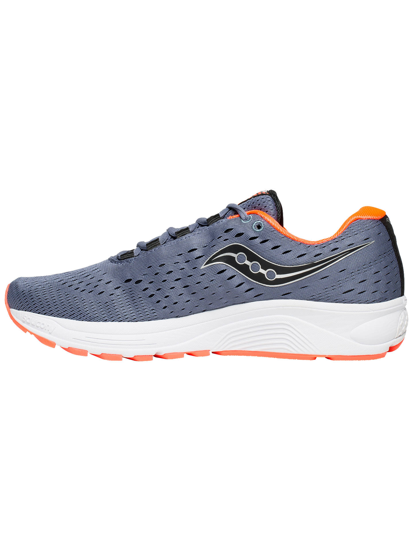 BuySaucony Jazz 20 Men's Running Shoes, Grey/Black/Vizired, 7 Online at johnlewis.com