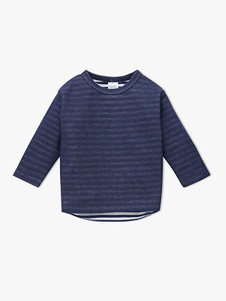 Buy Bonds Baby Long Sleeve Bodysuit, Navy, 0-3 months Online at johnlewis.com