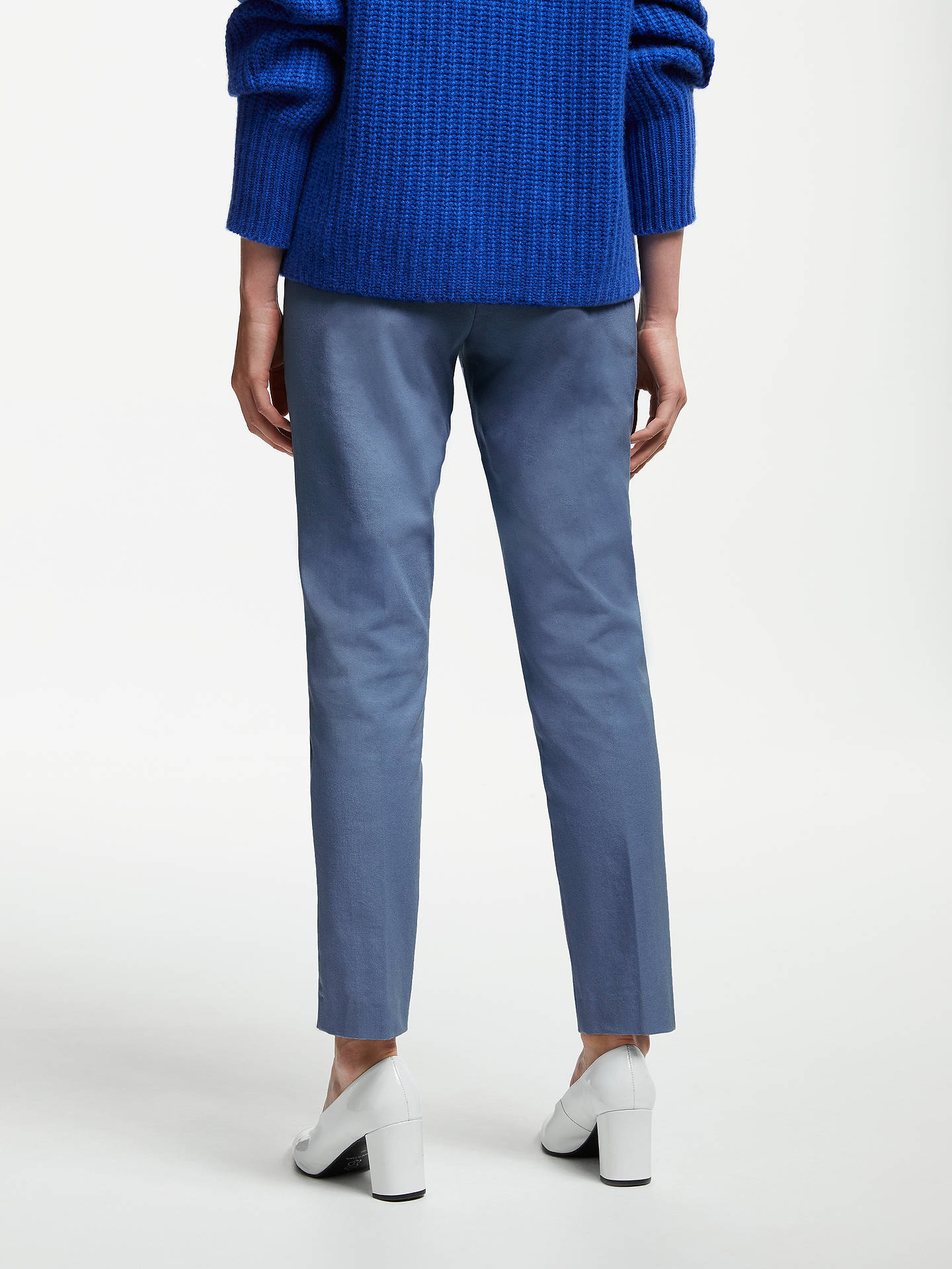 BuyJohn Lewis & Partners Dionne Trousers, Blue, 14 Online at johnlewis.com