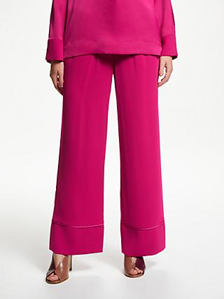 John Lewis & Partners Fluid Wide Leg Trousers