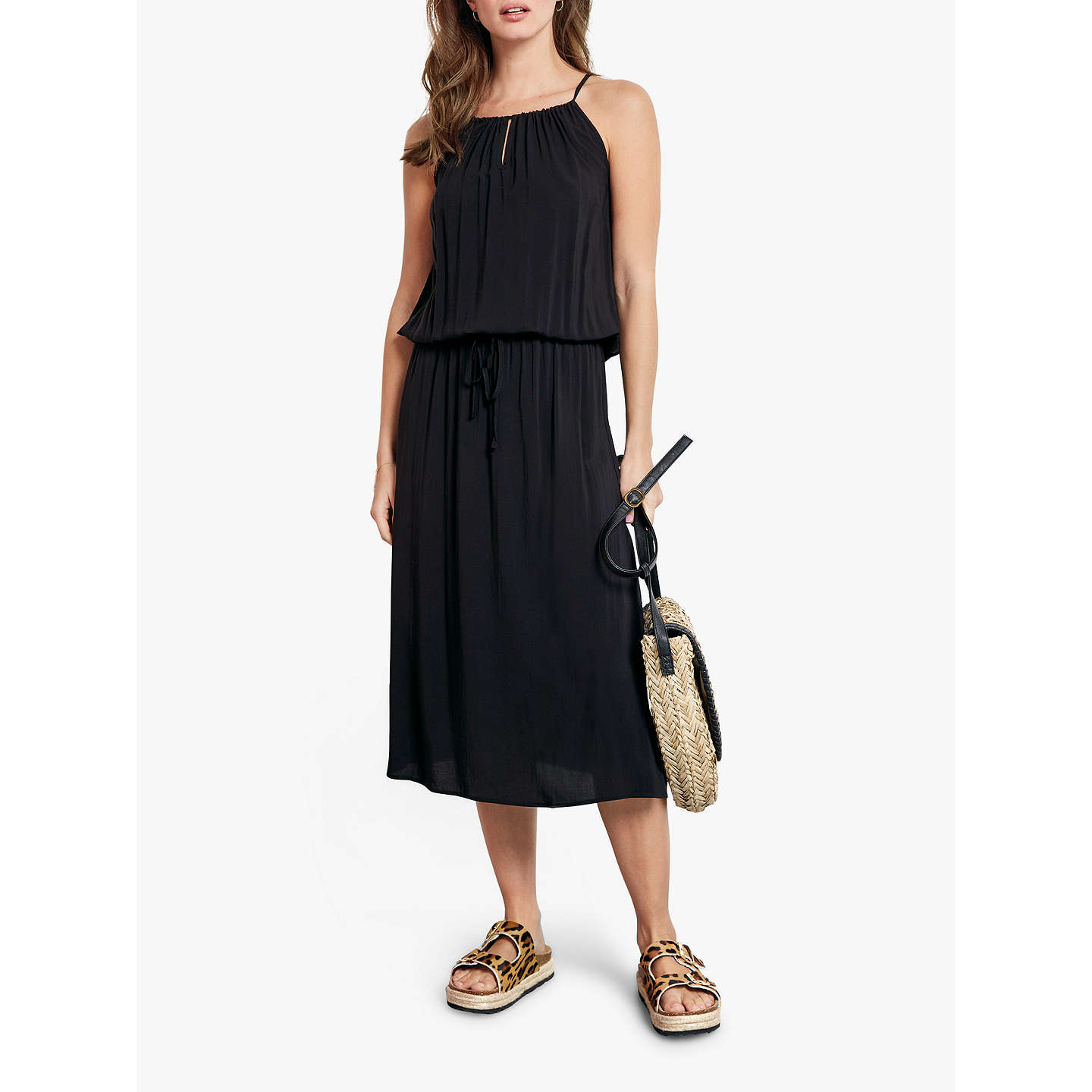 Hush Canterbury Dress, Black by Hush