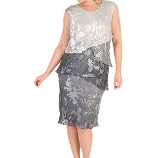 Chesca Devoree Dress Grey