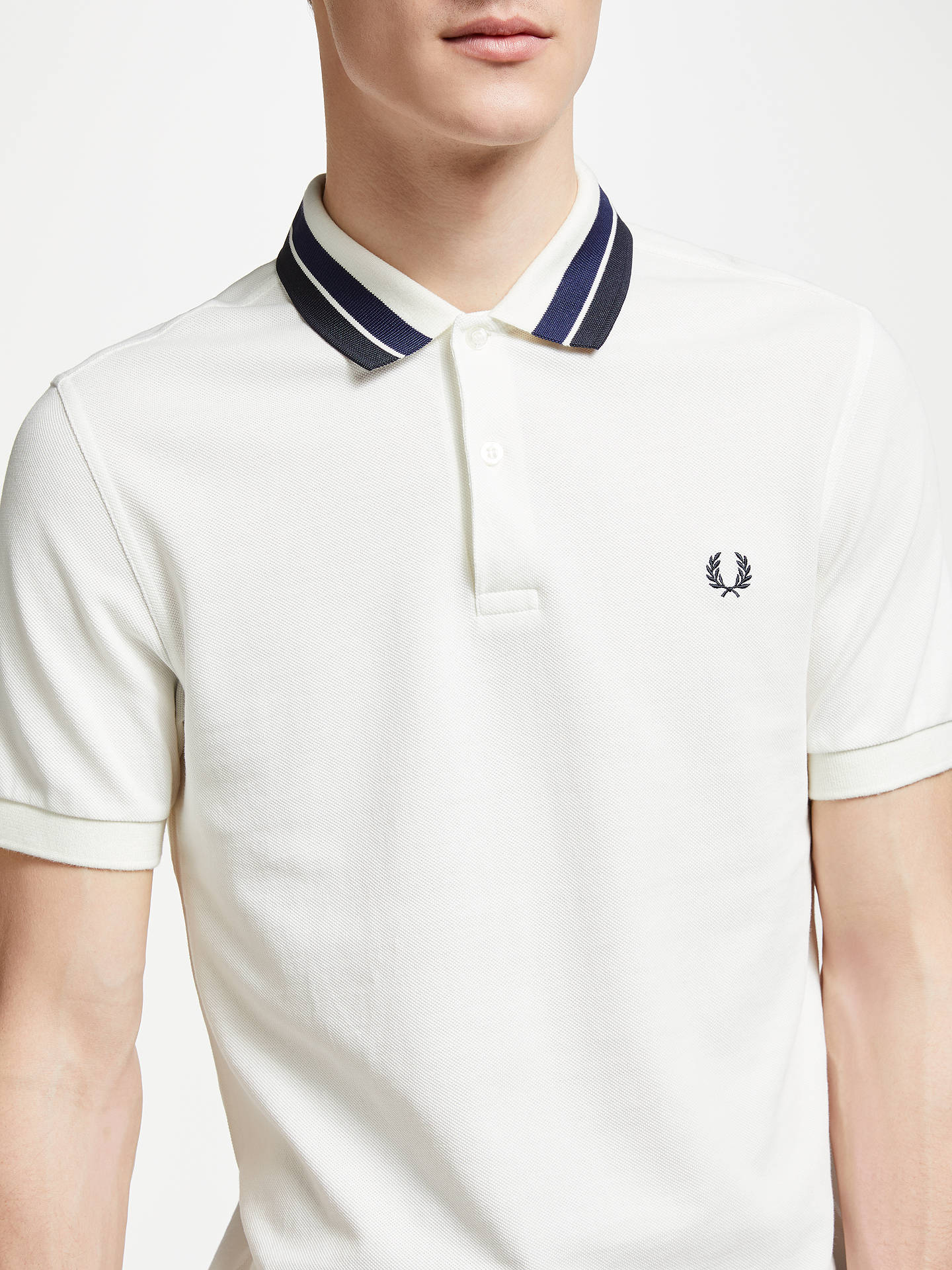 11596ac75 Fred Perry Bold Tipped Collar Polo Shirt at John Lewis   Partners