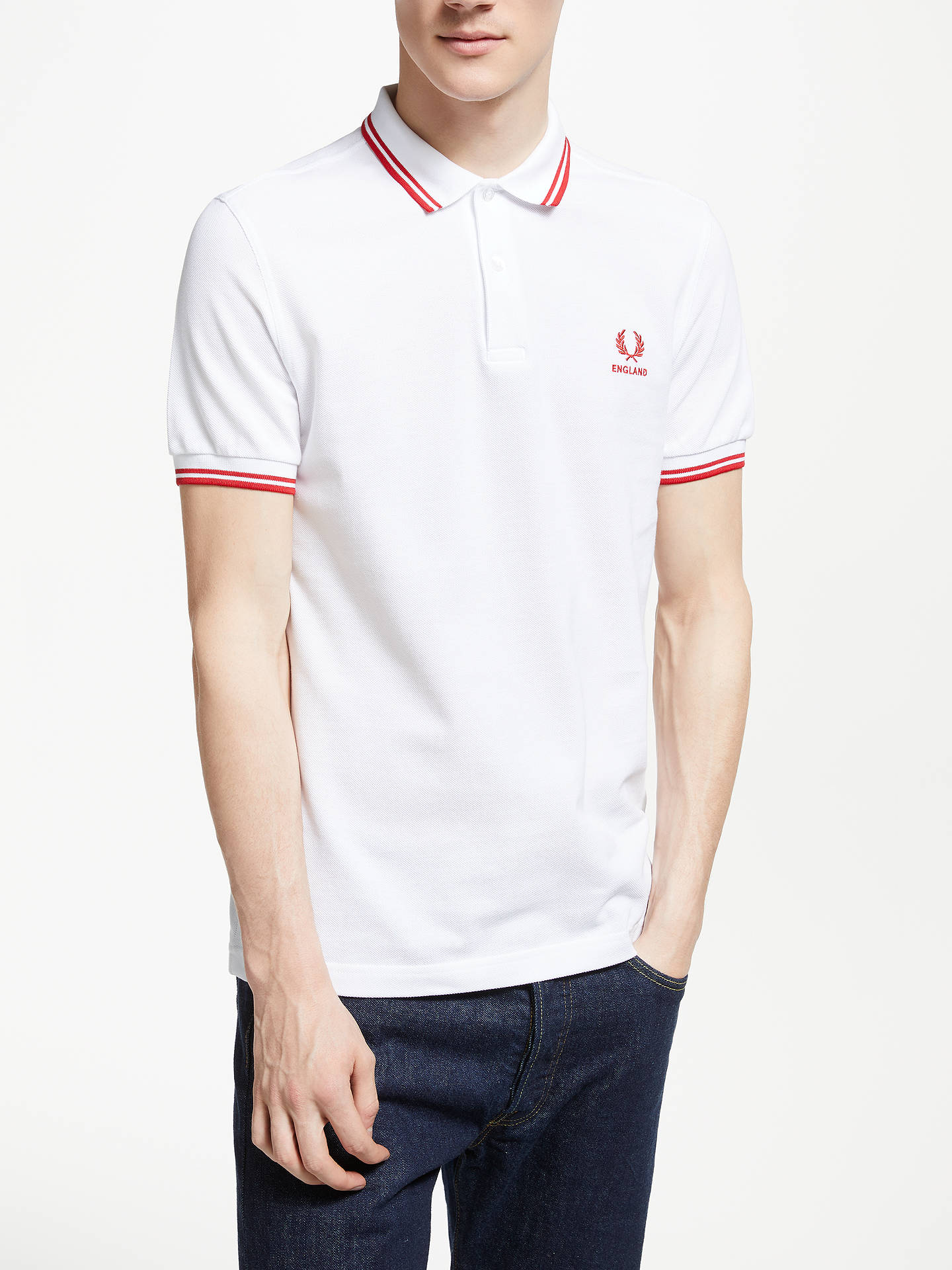 295623304 Buy Fred Perry Twin Tipped England Country Polo Shirt