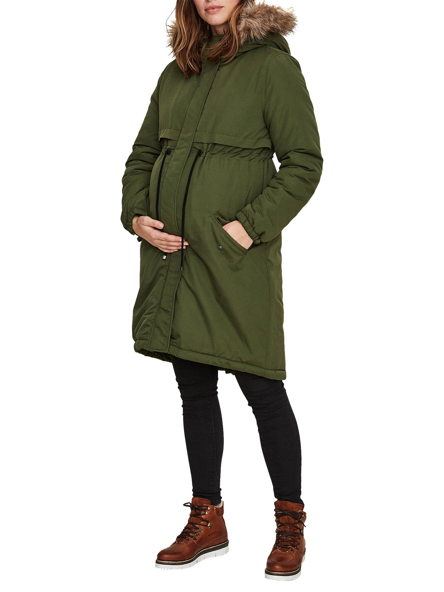 bae030fc8 Buy Mamalicious Padded Parka Maternity Coat
