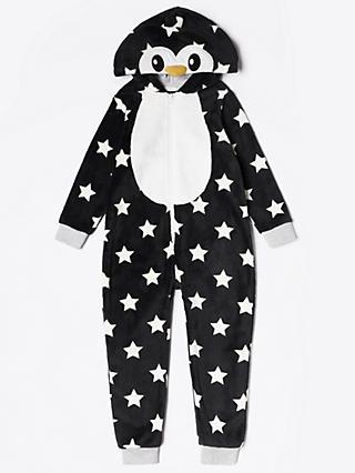 John Lewis   Partners Children s Penguin Onesie 488683ecf