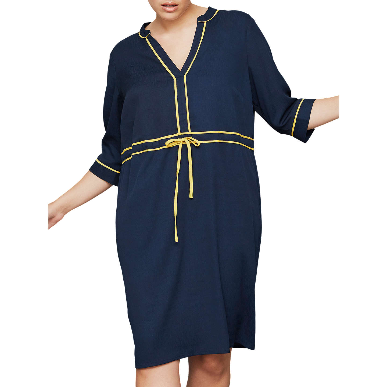 Scenery Ellie Contrast Detail Dress, Navy Blazer, 16 Online At