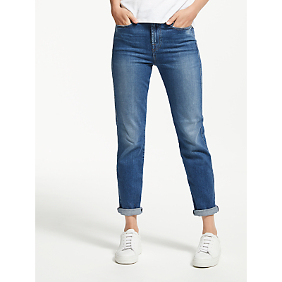 7 For All Mankind Erin High Waist Slim Jeans, Lounge