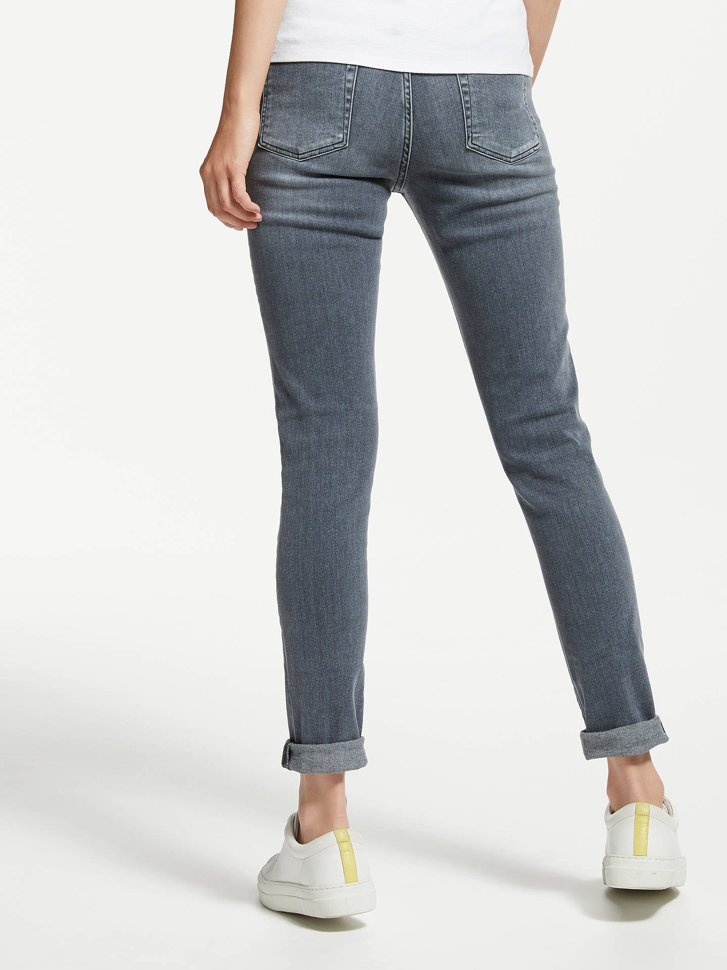 Buy7 For All Mankind High Waist Skinny Slim Illusion Jeans, Lounge, 26 Online at johnlewis.com