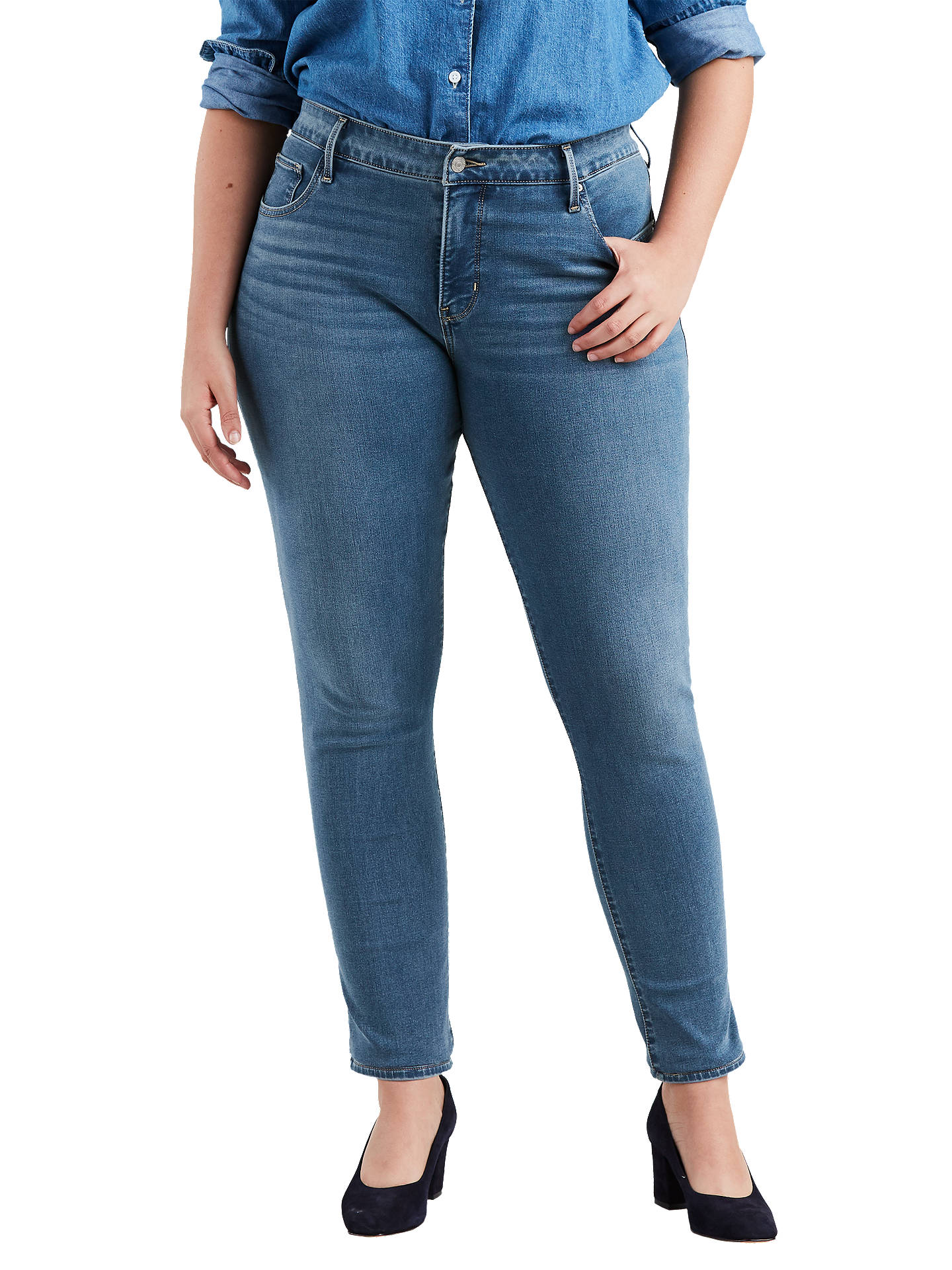 d1fd6b4559f Buy Levi's Plus 311 Shaping Skinny Jeans, Don't Look Back, 16 Online ...
