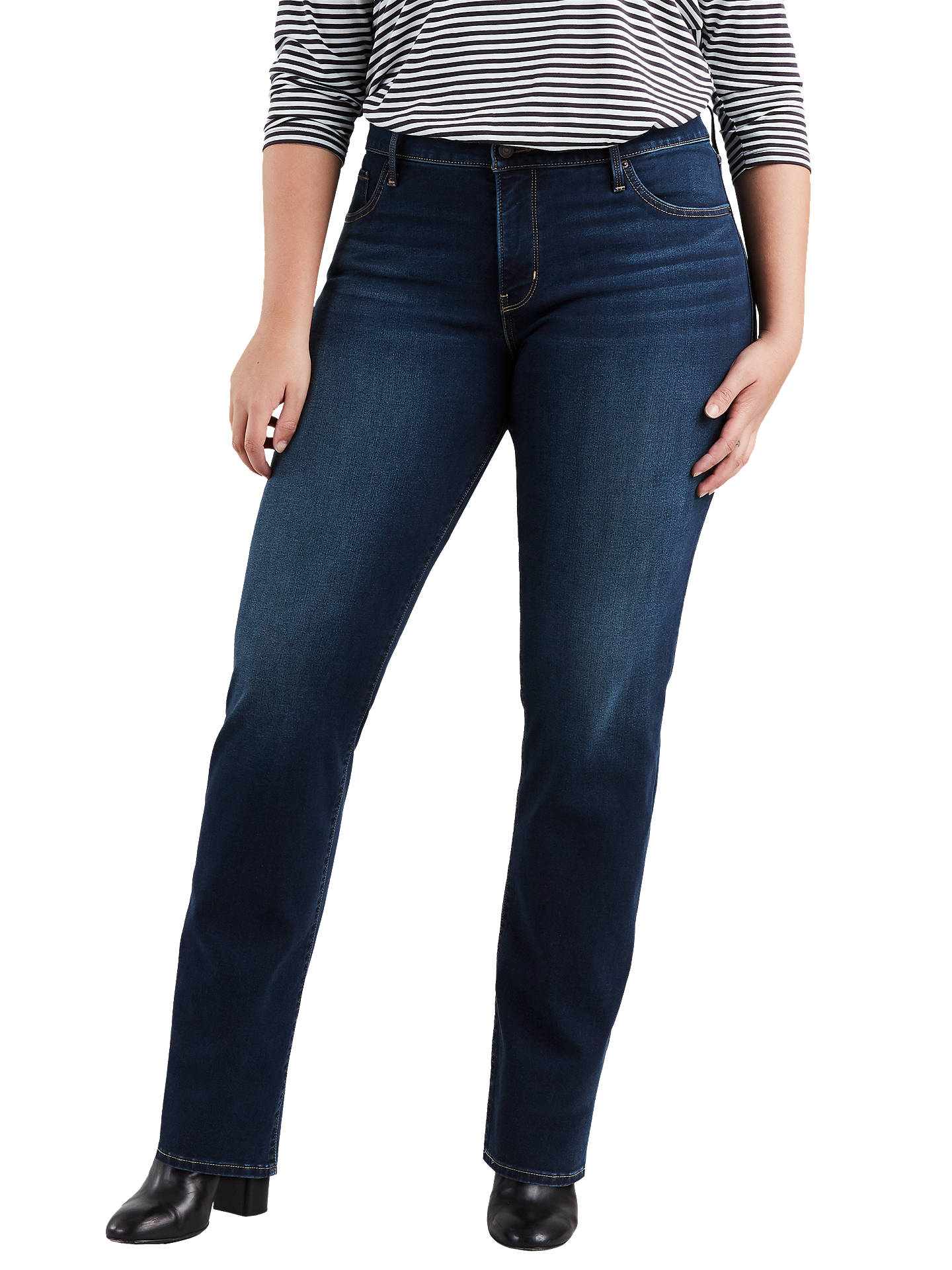 ea89883afde Buy Levi's Plus 314 Shaping Straight Jeans, Stand By Me, 16 Online at  johnlewis ...