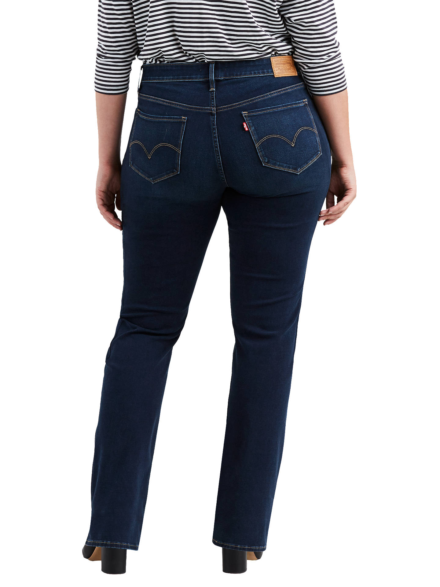 a46da9cdaac ... Buy Levi's Plus 314 Shaping Straight Jeans, Stand By Me, 16 Online at  johnlewis