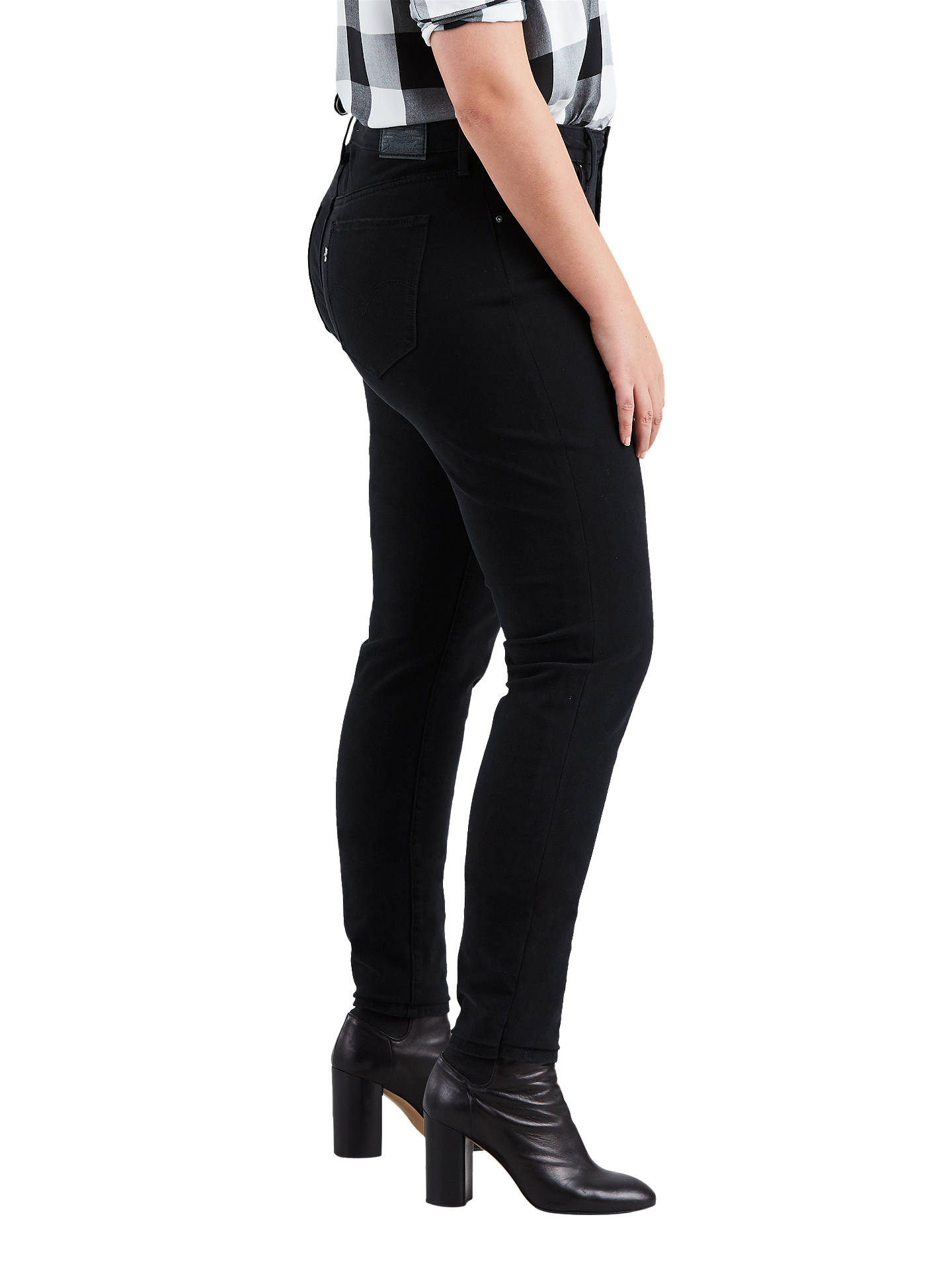 real quality new lifestyle big discount sale Levi's Plus 311 Shaping Skinny Jeans, Ultra Black Night