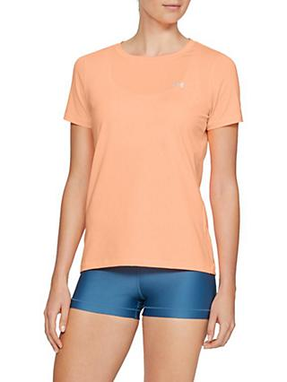 Under Armour HeatGear Training Top, Peach