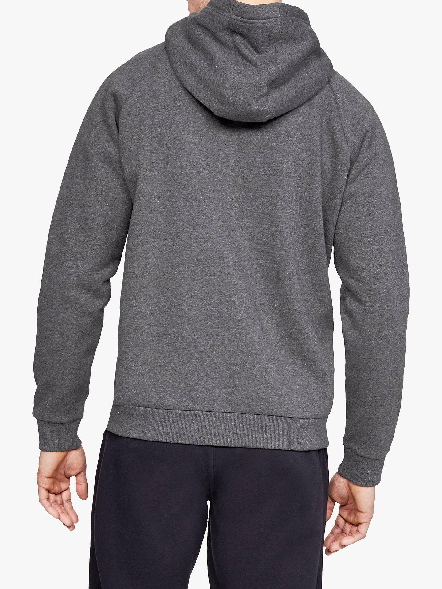 BuyUnder Armour Rival Fleece Training Hoodie, Grey, S Online at johnlewis.com