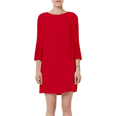 French Connection Ensor Crepe Tunic Dress, Blazer Red
