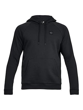 Under Armour Rival Pull Over Training Hoodie, Black