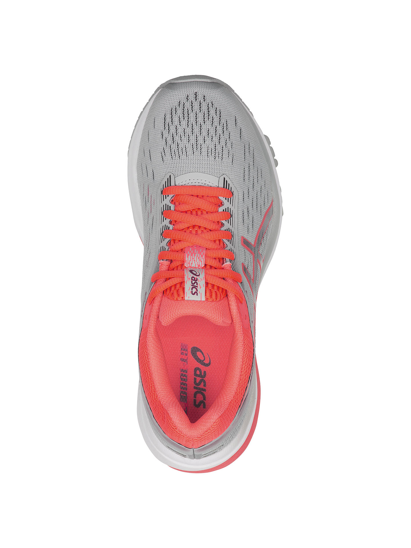 Buy ASICS GT-1000 7 Women's Running Shoes, Mid Grey/Flash Coral, 5.5 Online at johnlewis.com