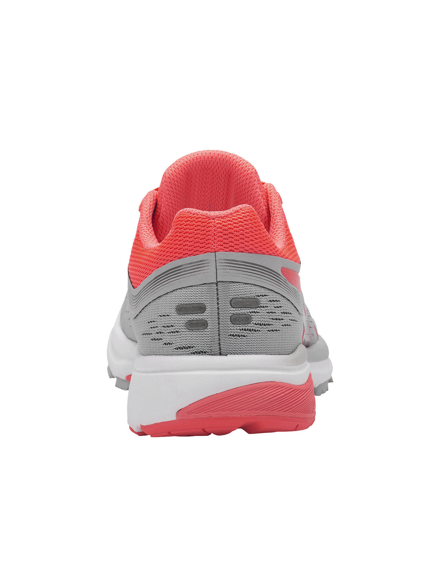 Buy ASICS GT-1000 7 Women's Running Shoes, Mid Grey/Flash Coral, 4 Online at johnlewis.com