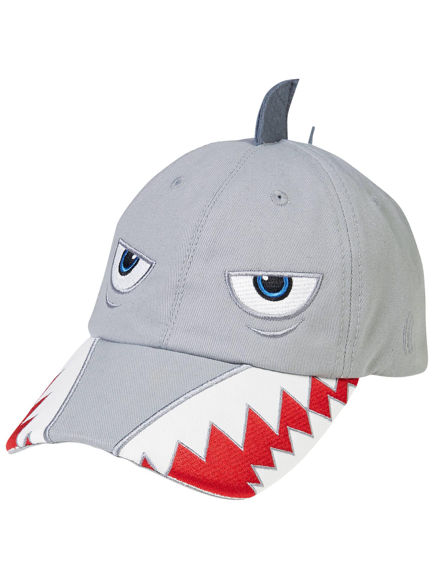 b124c5bd1a7f0 Buy Fat Face Children s Shark Cap Hat
