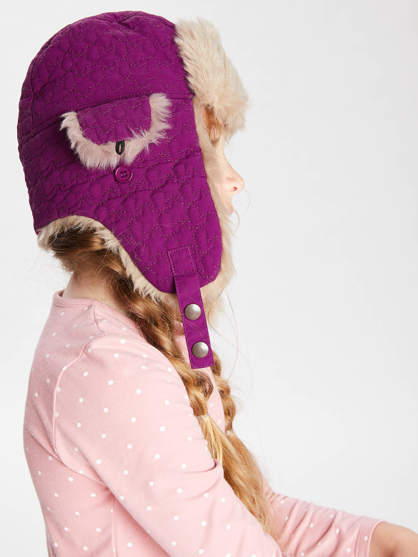 70cec26bbca13 ... Buy John Lewis   Partners Children s Ski Trapper Faux Fur Hat