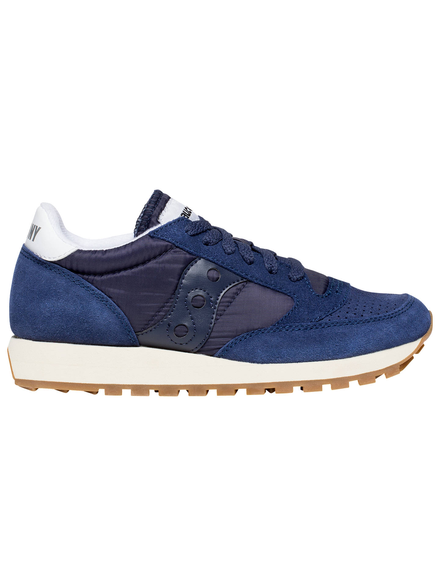 check out 8e965 a4eda Saucony Jazz Original Vintage Women's Trainers, Navy Blue