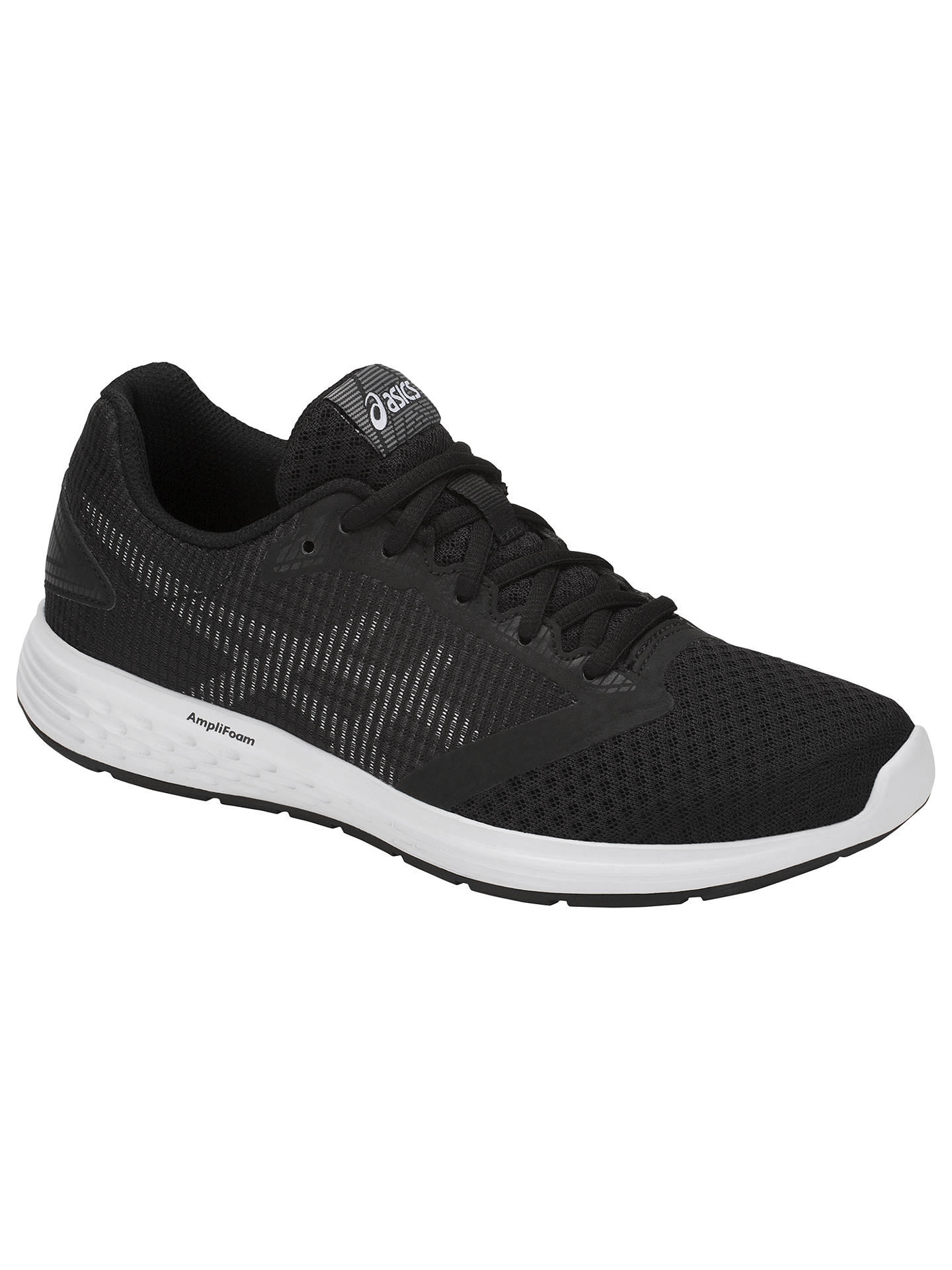 Buy ASICS PATRIOT 10 Women's Running Shoes, Black, 4 Online at johnlewis.com