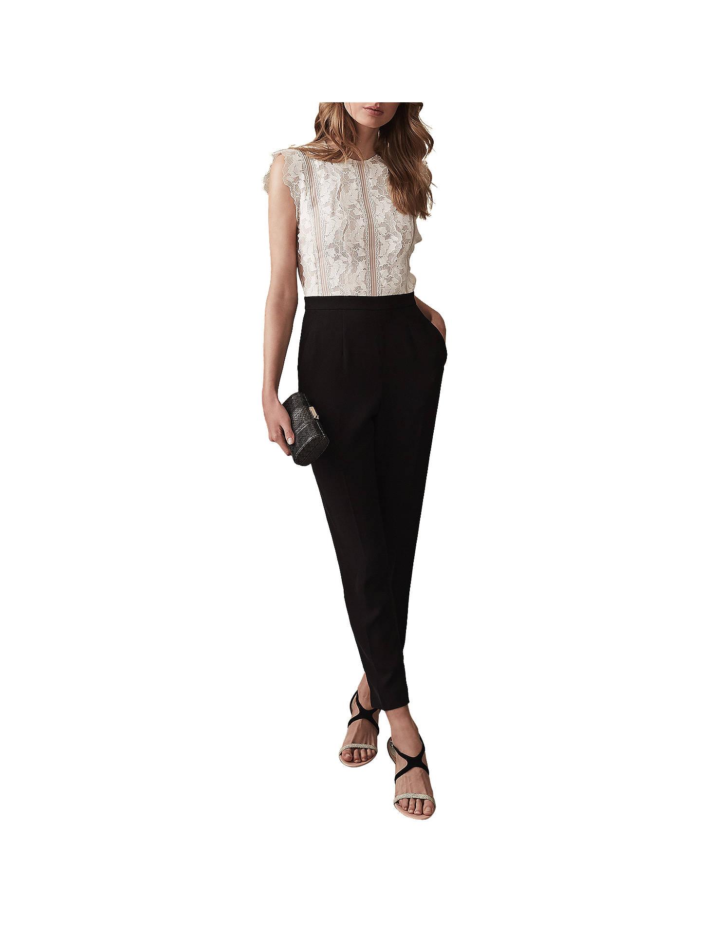 312051ecb6d Buy Reiss Suzy Lace Jumpsuit