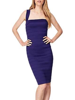 Damsel in a Dress Jasmine Bandage Dress, Purple
