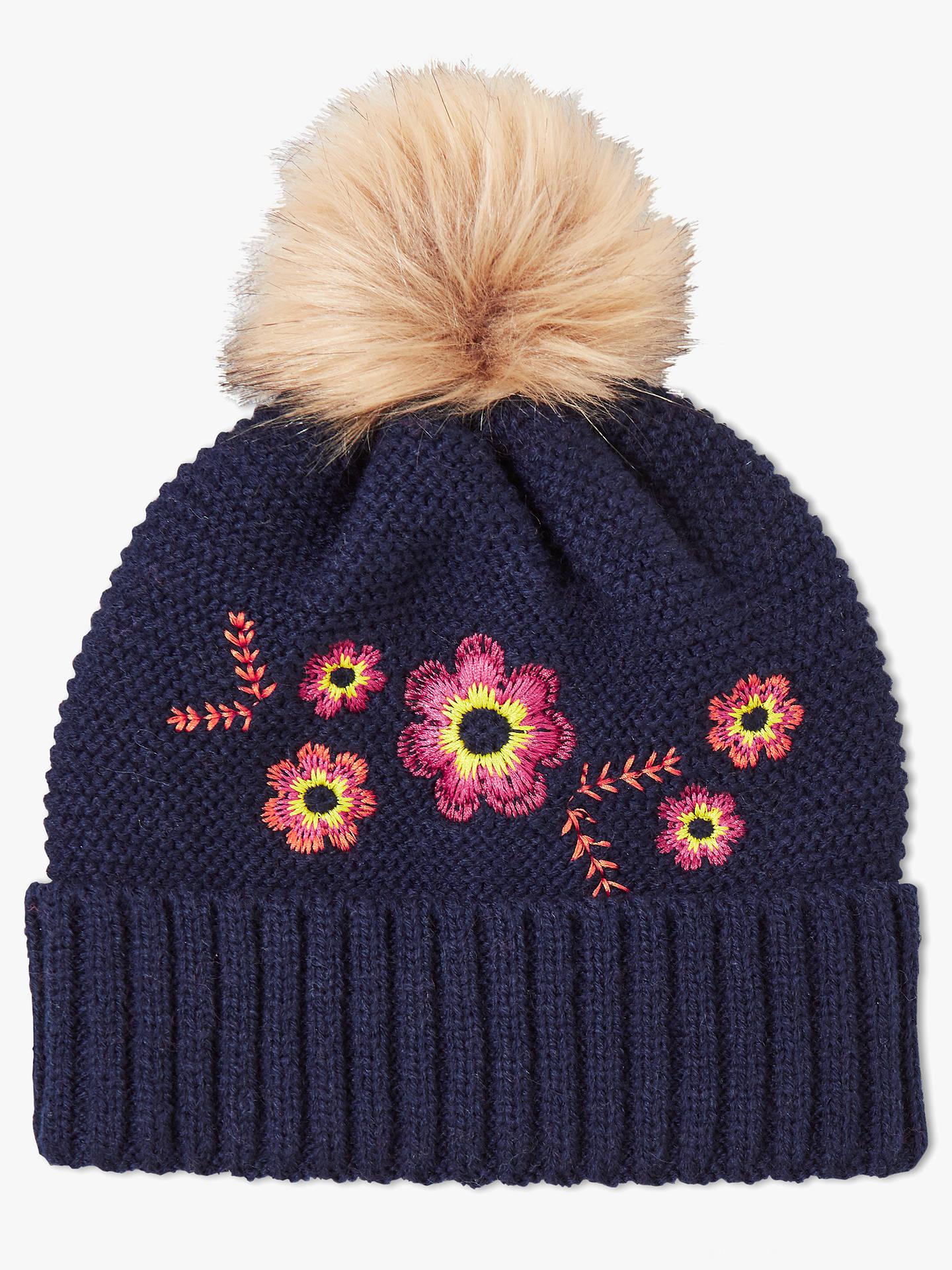 f78c6eda16d Buy John Lewis   Partners Children s Knitted Pom Pom Beanie