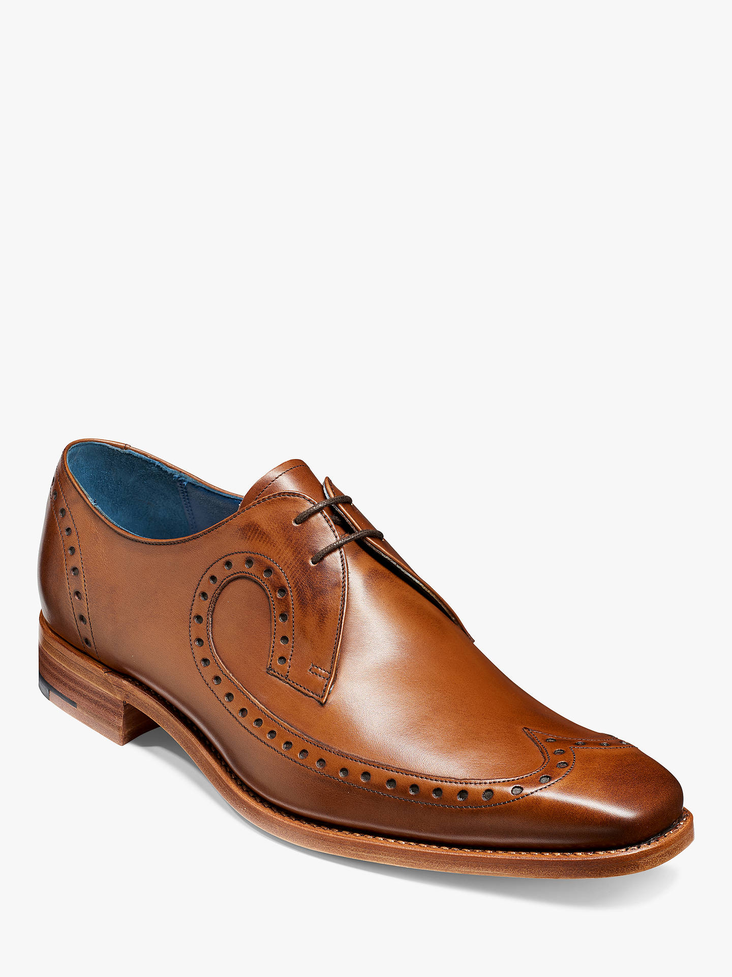 BuyBarker Woody Goodyear Welt Brogue Derby Shoes, Walnut, 8 Online at johnlewis.com