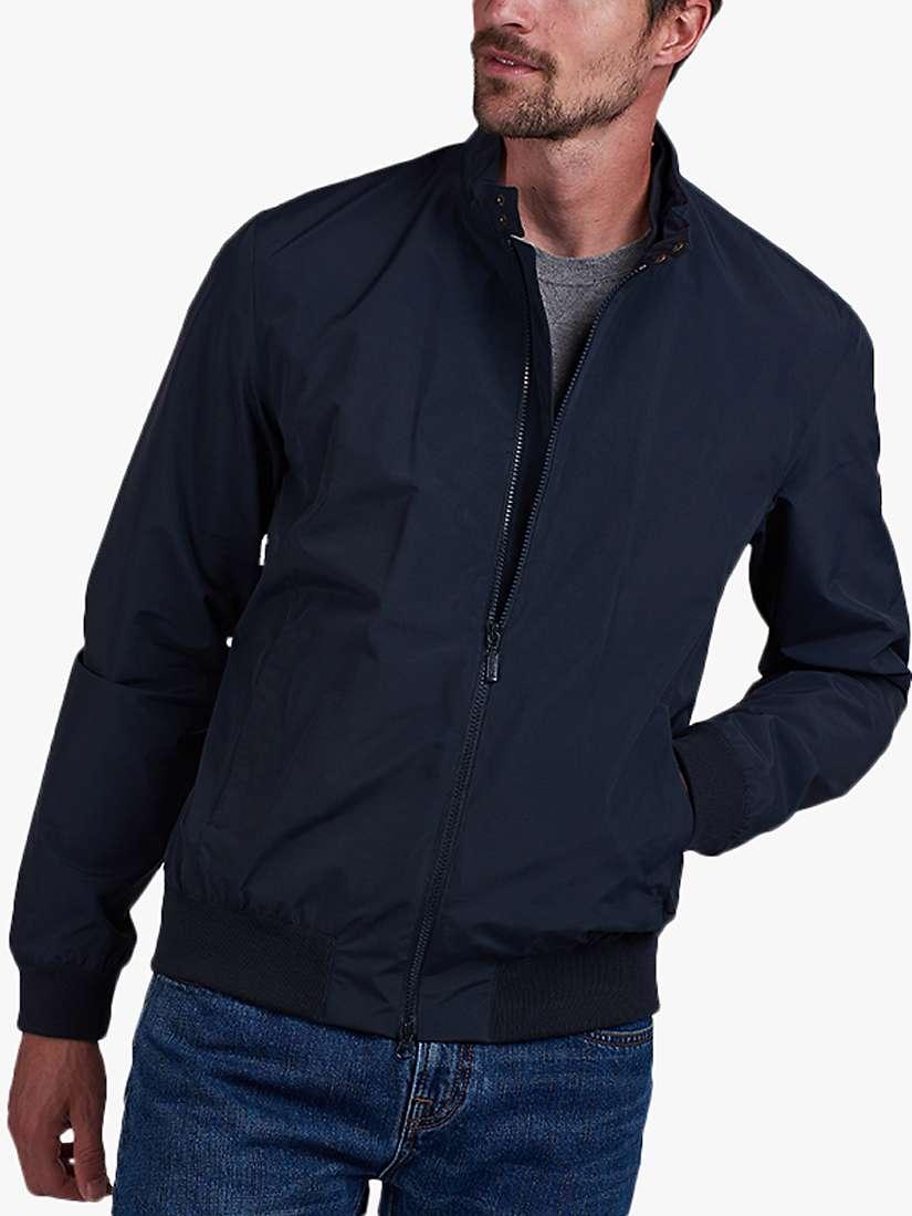 Barbour International Runnel Lightweight Jacket, Navy at John Lewis &  Partners