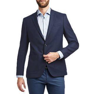 HUGO by Hugo Boss Jayson Tonal Weave Suit Jacket, Navy
