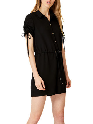Buy Damsel in a Dress Florence Playsuit, Black, 16 Online at johnlewis.com
