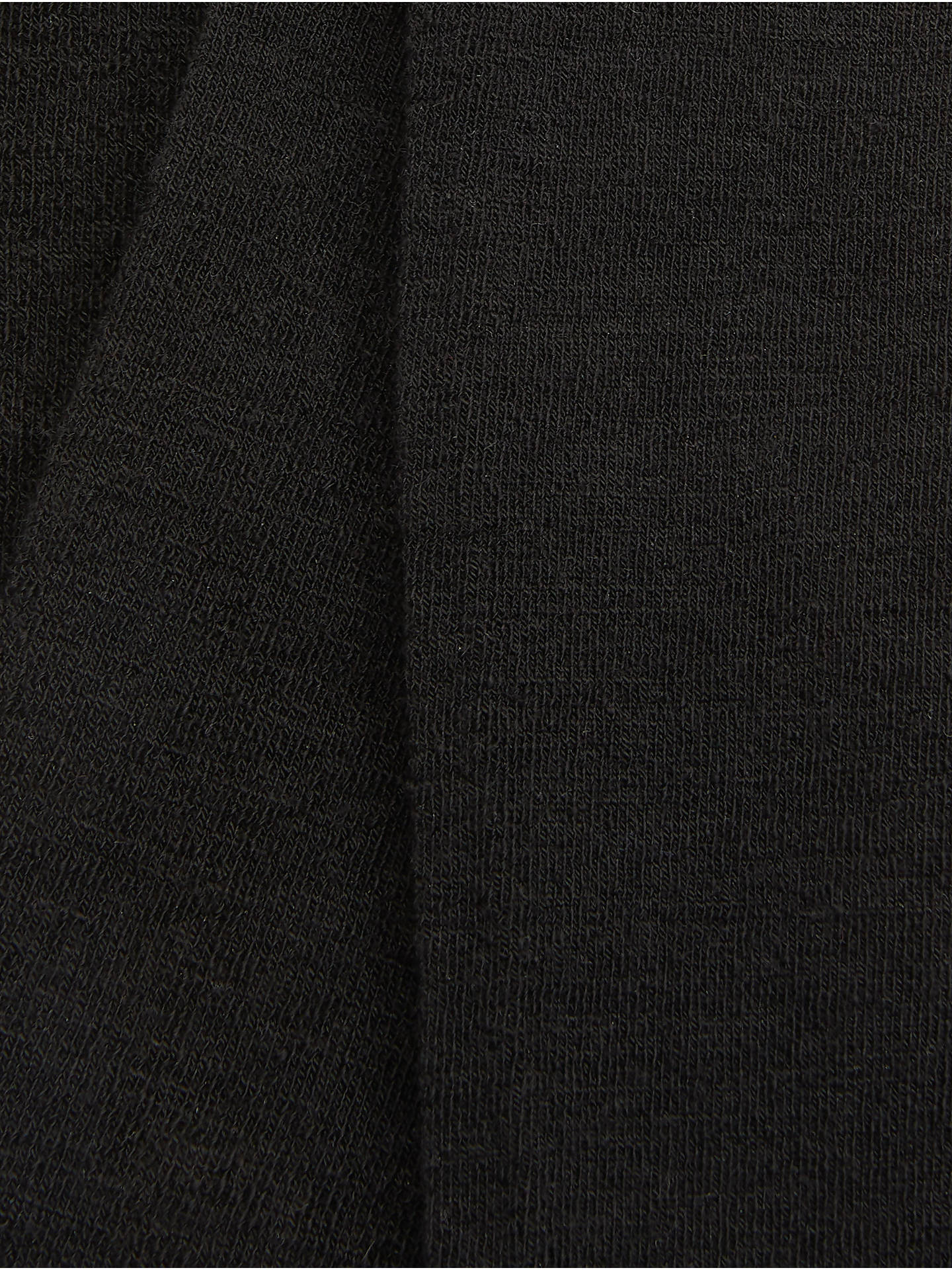 BuyJohn Lewis & Partners Extra Fine Wool Rich Flat Opaque Tights, Black, S Online at johnlewis.com