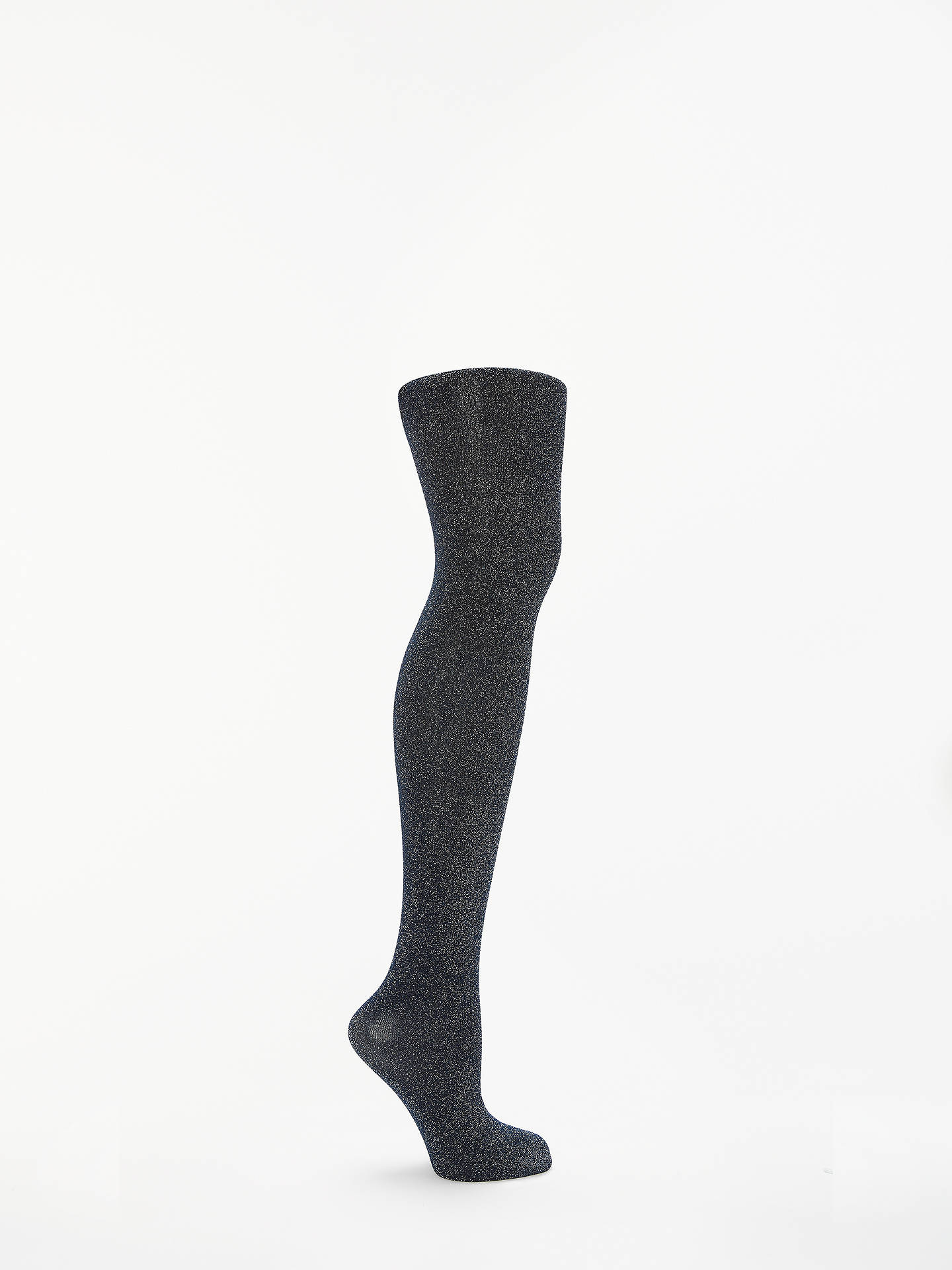 929a1d27e5b6e Buy John Lewis & Partners Super Sparkle Opaque Tights, Navy, S Online at  johnlewis ...