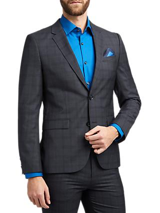 624ac550 HUGO by Hugo Boss Astian Check Extra Slim Fit Suit Jacket, Navy