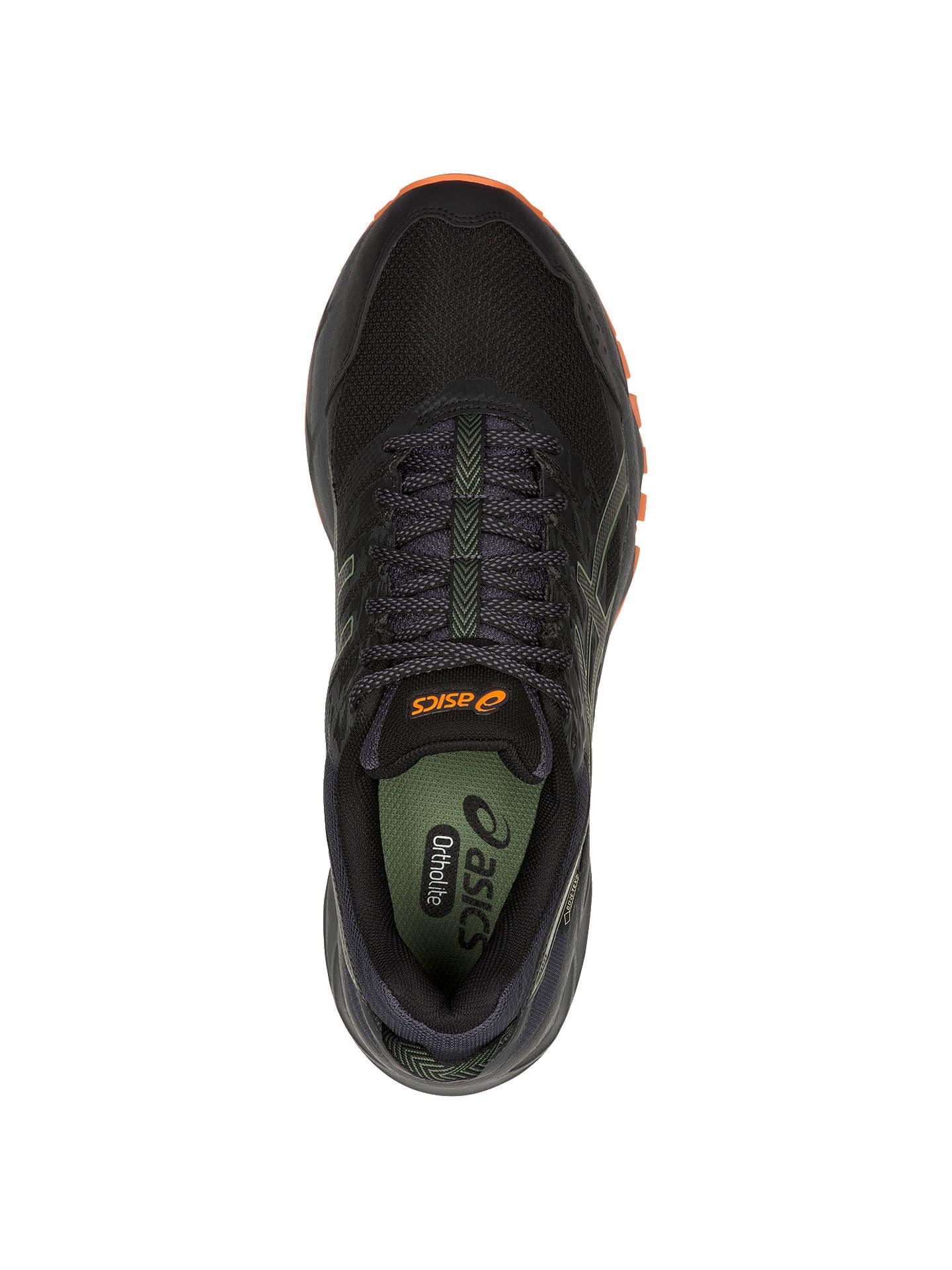 8c68fa46 ASICS GEL-SONOMA 3 G-TX Men's Running Shoes, Black/Dark Grey at John ...