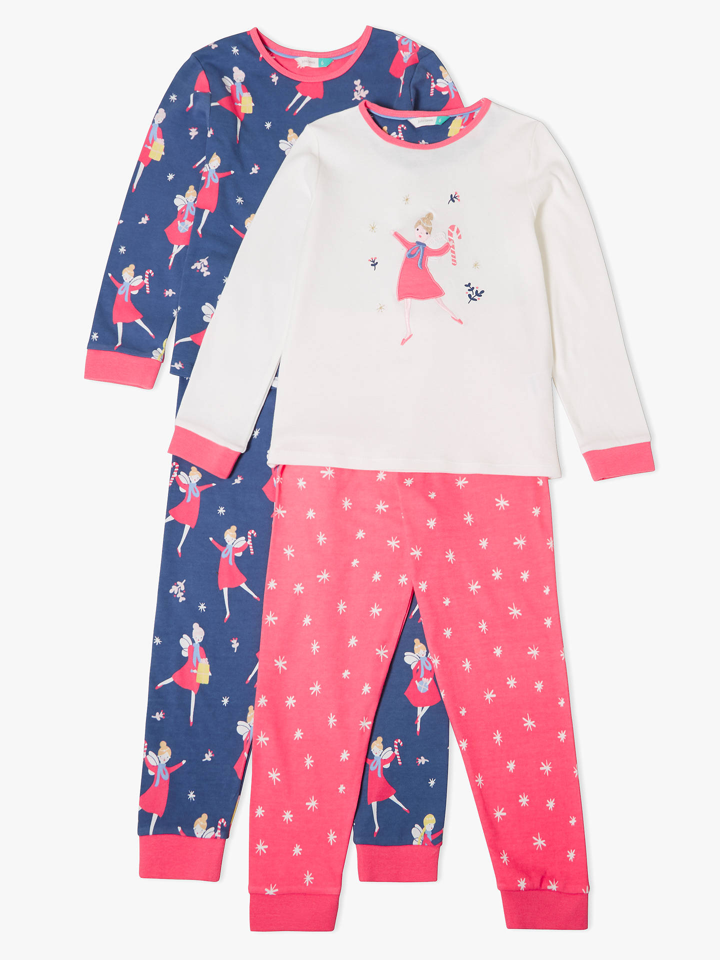 35605fb6b John Lewis   Partners Girls  Christmas Fairy Pyjamas