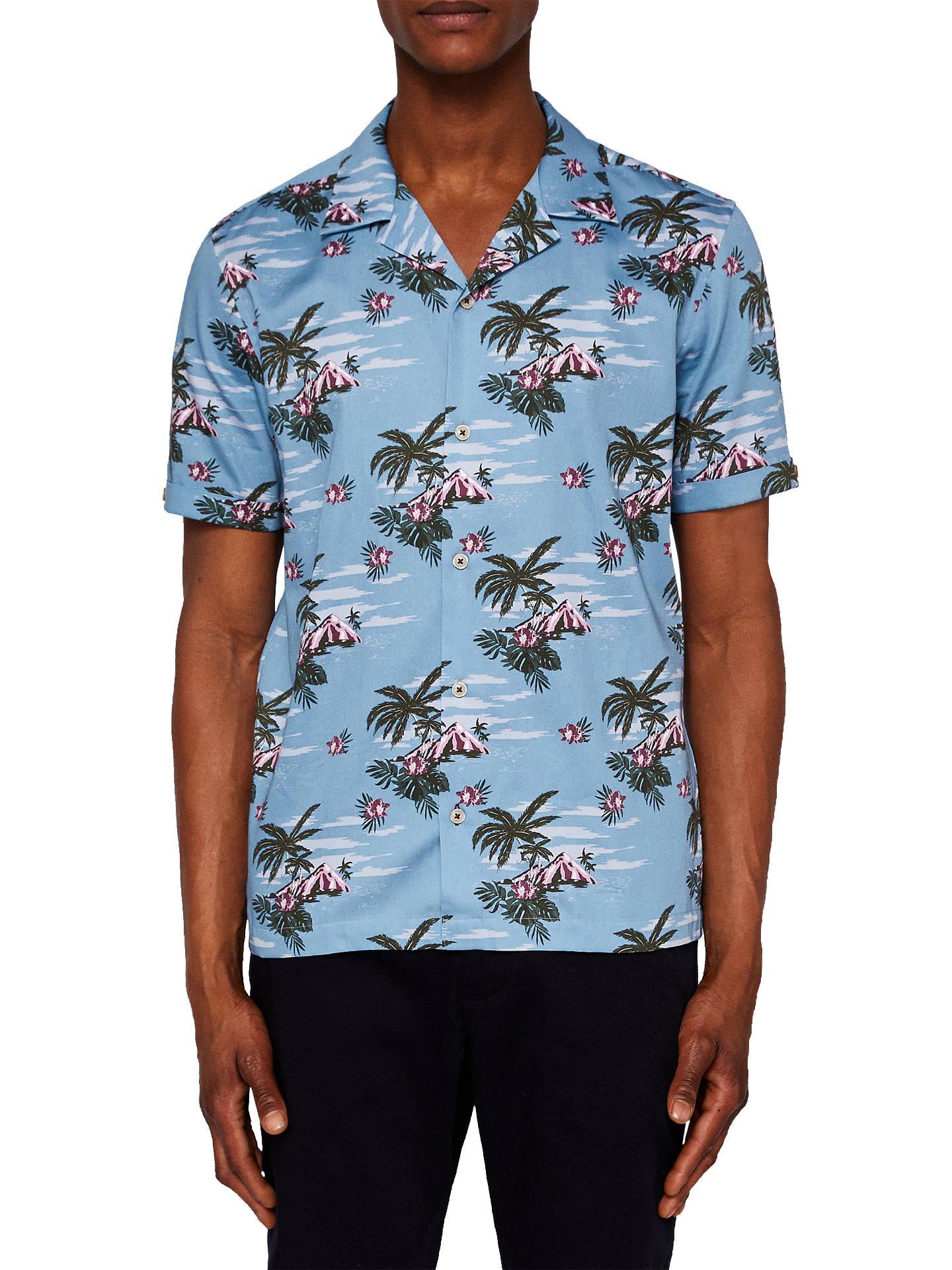 f83270a36 Buy Ted Baker Bliss Short Sleeve Hawaiian Shirt