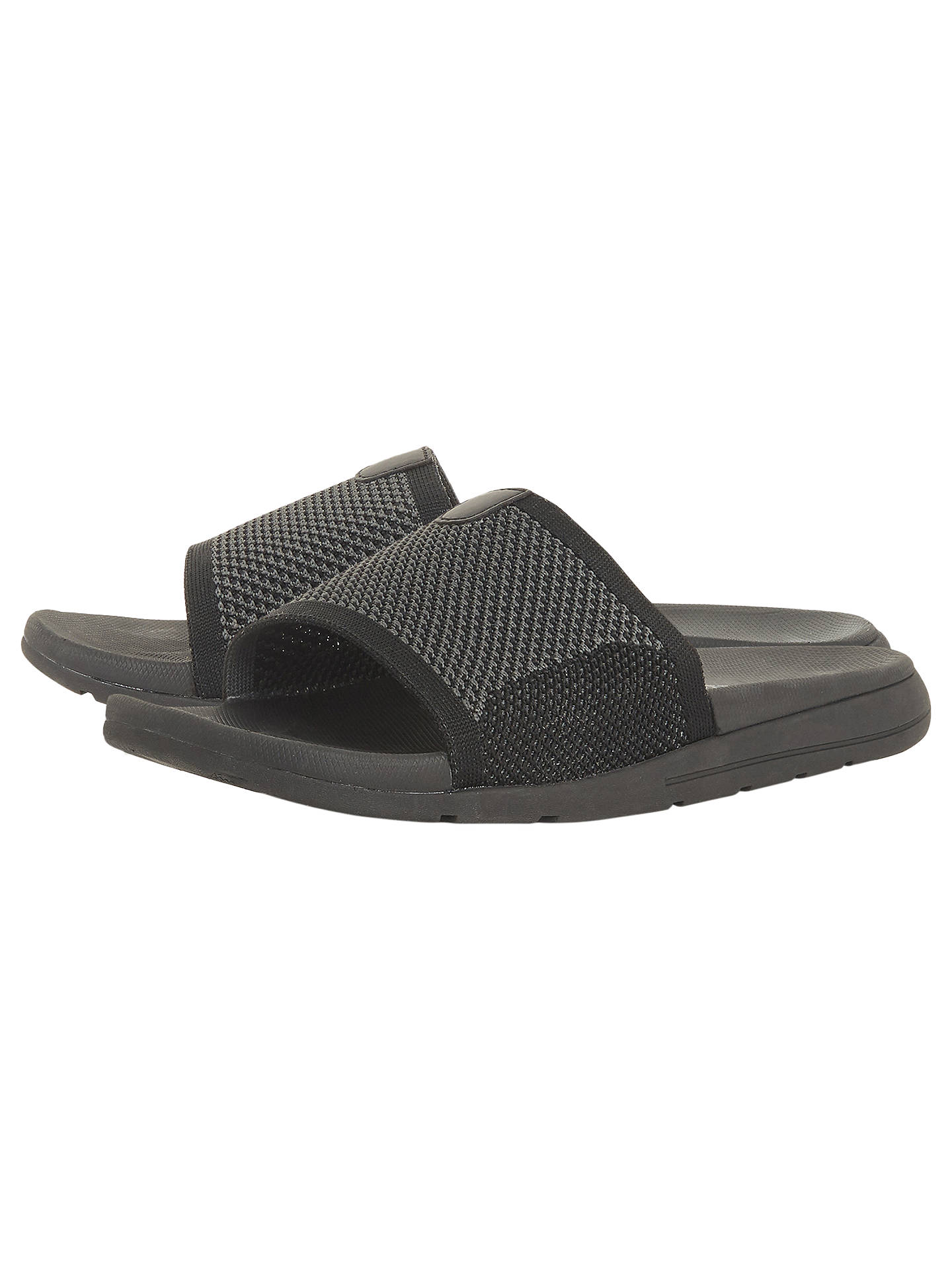 6ac38a96fafe ... Buy Dune Hanks Knit Strap Slider Sandals