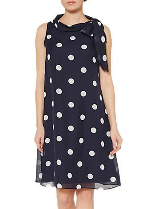 d690115b1f Gina Bacconi Moira Bow Neck Dress