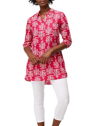 White Stuff Harper Linen Tunic, Multi