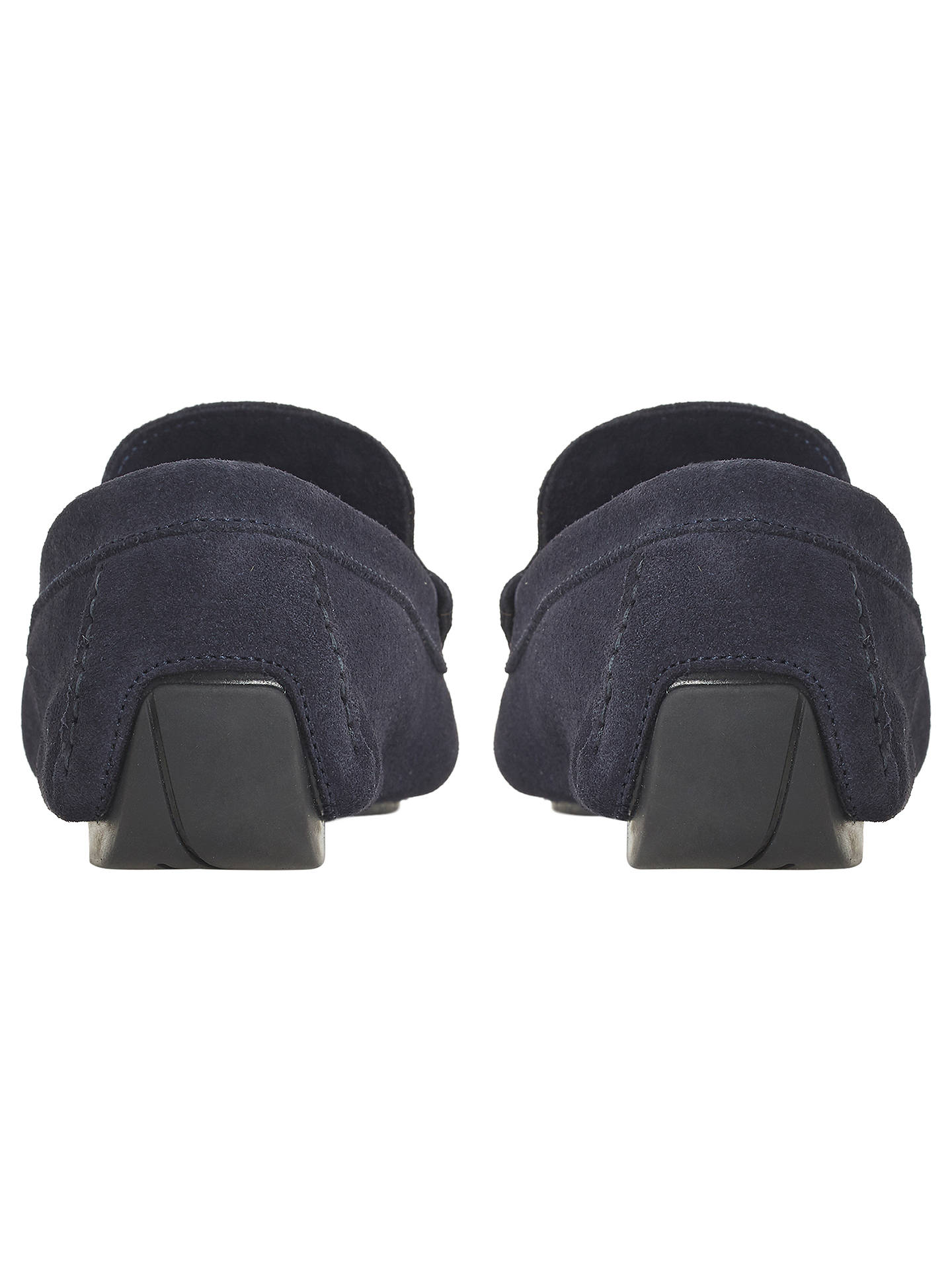 BuyBertie Bandit Knot Driver Loafer, Navy, 7 Online at johnlewis.com