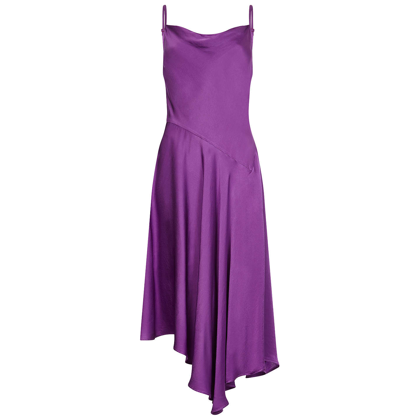 BuyGhost Alice Dress, Purple, XS Online at johnlewis.com