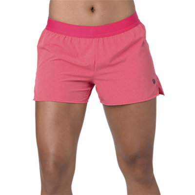 ASICS 2-in-1 Running Shorts, Pixel Pink Heather