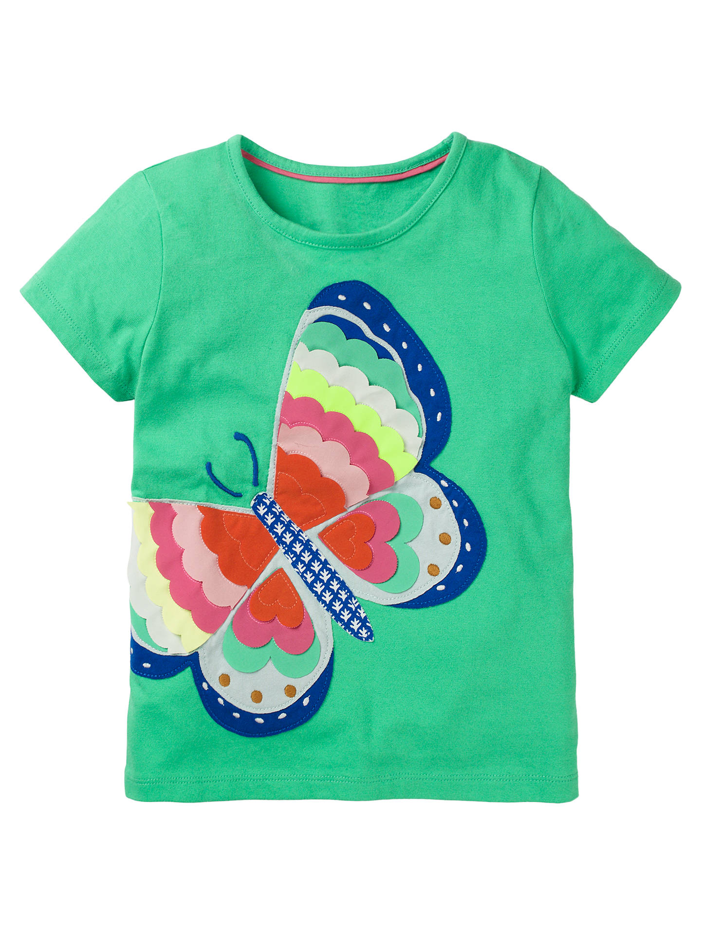 a07285a58 Mini Boden Girls  Wild Applique T-Shirt