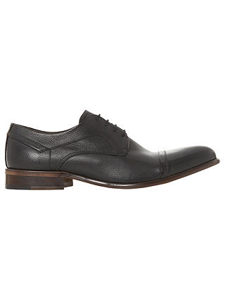 Buy Bertie Parallel Stitched Toe Cap Gibson Shoes, Black, 7 Online at johnlewis.com